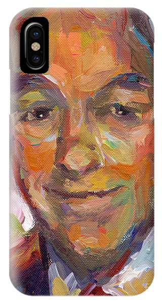 Ron Paul Art Impressionistic Painting  IPhone Case