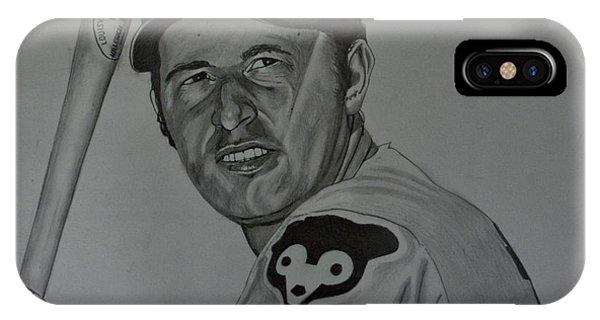 Ron Santo Portrait IPhone Case