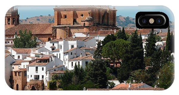 Ronda. Andalusia. Spain IPhone Case