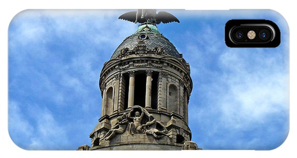 Roof Top Statue IPhone Case