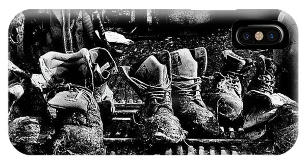 Roofers Tar Boots Take A Break IPhone Case