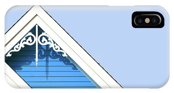 iPhone Case - Rooftop Detail With Decorative Fretwork by Jane Rix