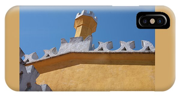 Rooftop Study Of Pena Palace -sintra, Portugal Phone Case by Connie Sue White