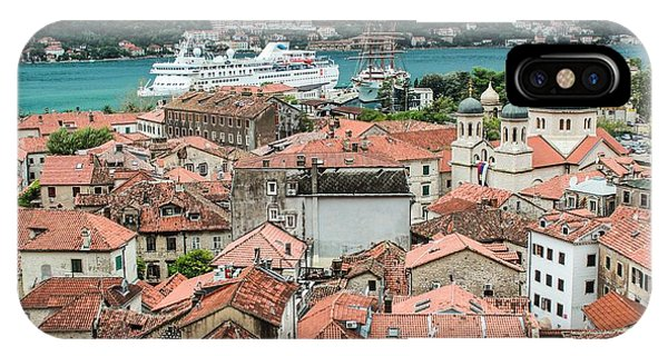 Rooftops Of Kotor  IPhone Case