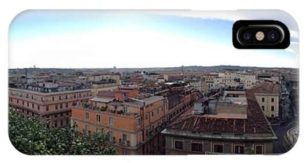 Rooftops Of Rome IPhone Case