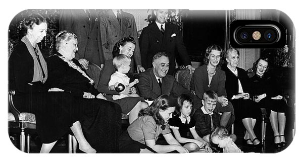 Roosevelt: Family, 1939 IPhone Case