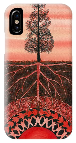 Root Chakra Phone Case by Catherine G McElroy