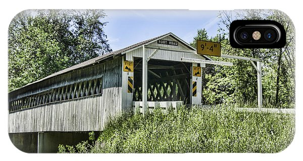 Kingsville iPhone Case - Root Road Covered Bridge by Phyllis Taylor