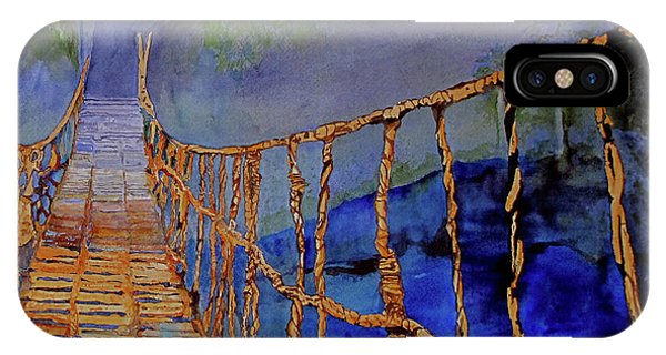 Rope Bridge IPhone Case