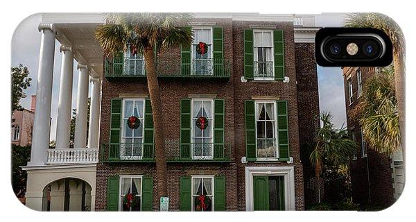 Roper Mansion In December IPhone Case