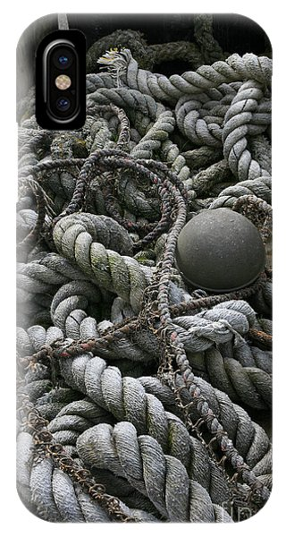 Ropes And Lines IPhone Case