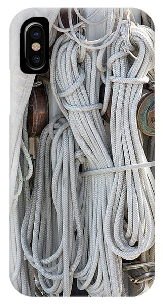 Ropes Of A Sailboat IPhone Case