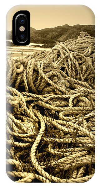 Ropes On Shore IPhone Case