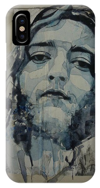 Irish iPhone Case - Rory Gallagher by Paul Lovering