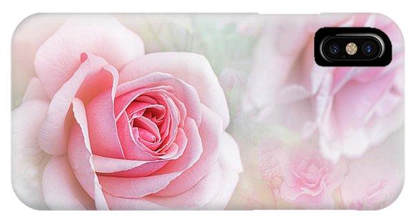 Close Focus Floral iPhone Case - Rosa 'aphrodite' by Jacky Parker