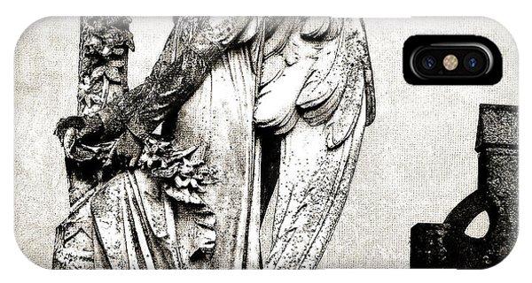 Roscommon Angel No 1 IPhone Case