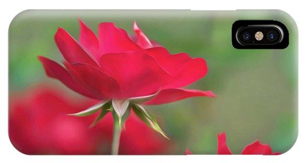 Rose 4 IPhone Case