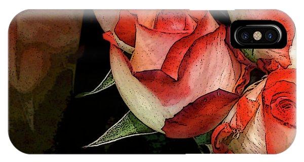 Rose 5 IPhone Case