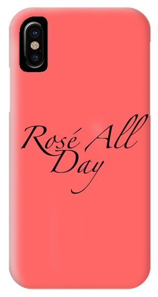 Vino iPhone Case - Rose All Day by Rosemary Nagorner