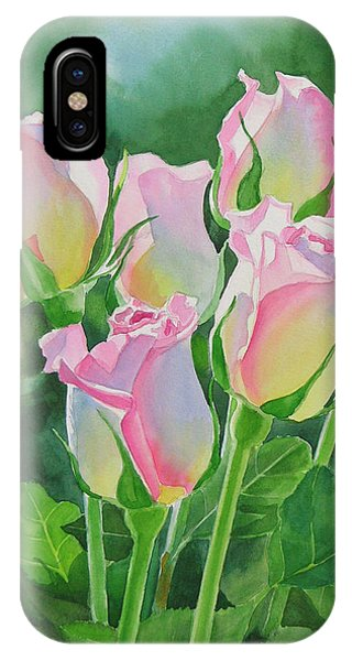 Flower iPhone Case - Rose Array by Sharon Freeman