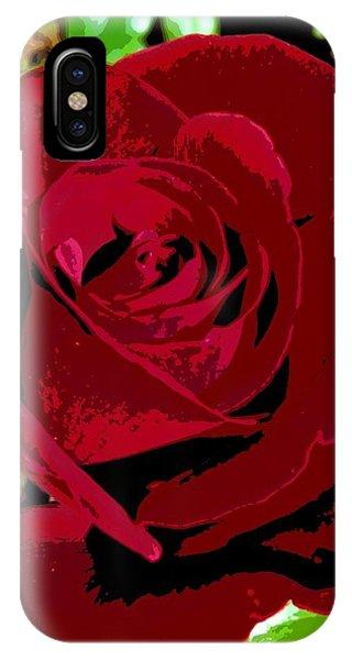 Rose Bloom IPhone Case