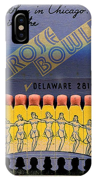 Rose Bowl Chicago Matches IPhone Case