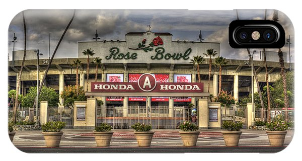 Rose Bowl Hdr IPhone Case