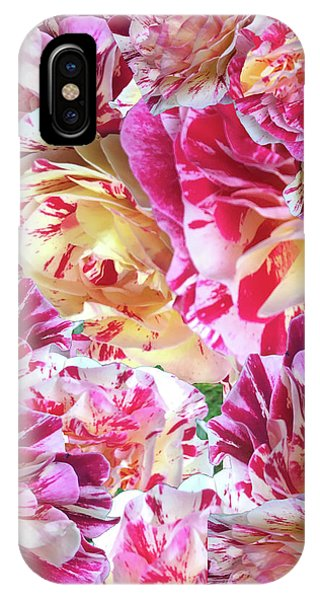 Rose Collage IPhone Case