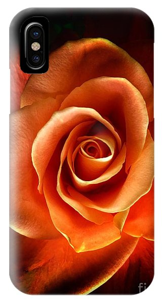 IPhone Case featuring the photograph Rose by Donald Paczynski