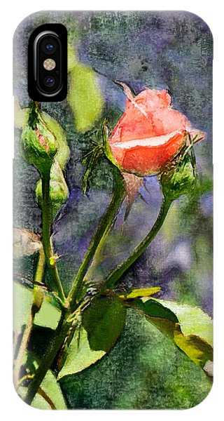 Rose Elegance Art Phone Case by Sherry  Curry