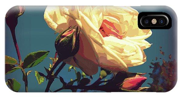 Rose Facing The Sun IPhone Case