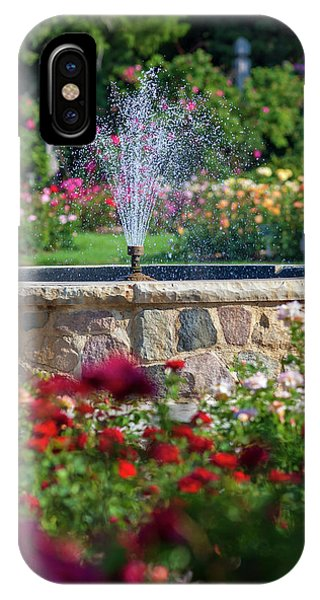 Rose Fountain IPhone Case