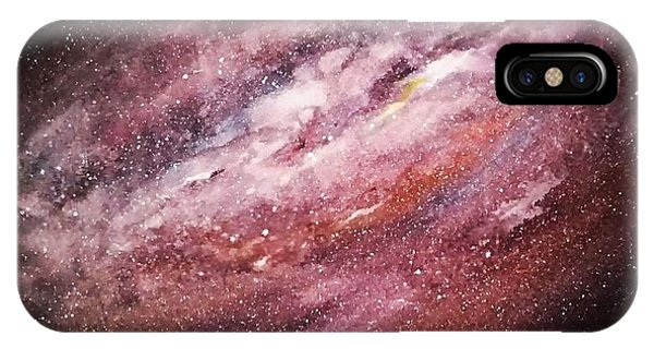 Rose Galaxy IPhone Case
