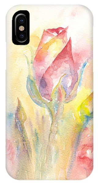 Rose Garden Two IPhone Case