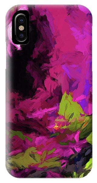 Rose Magenta IPhone Case