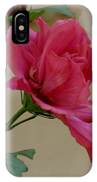 Rose Of Sharon Phone Case by Debra     Vatalaro