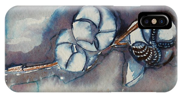 Rose Of Sharon Seed Pods Phone Case by Diana Davenport