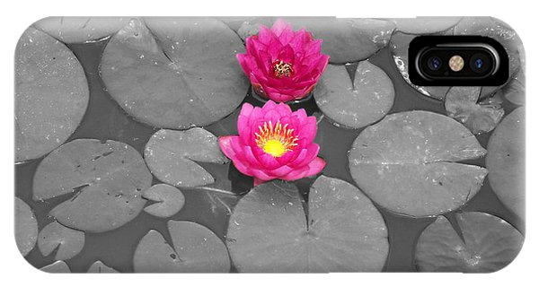 Rose Of The Water IPhone Case