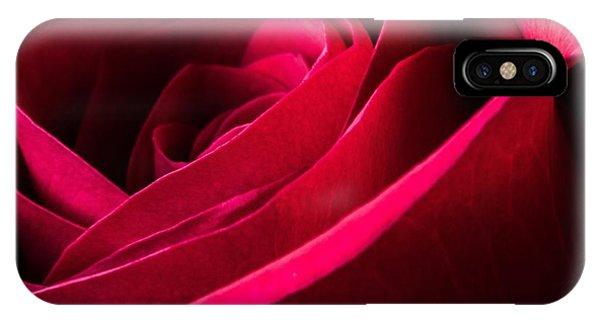 Rose Of Velvet IPhone Case