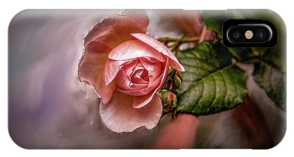 Rose On Paint #g5 IPhone Case