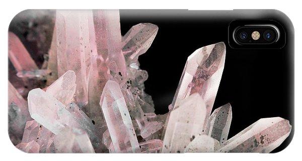 Rose Quartz Crystals IPhone Case