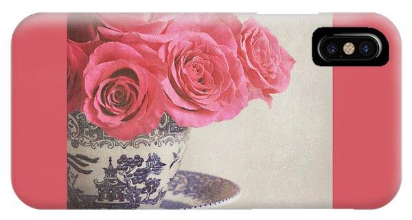 Rose Tea IPhone Case