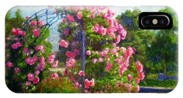 Rose Trellis Phone Case by Michael Durst