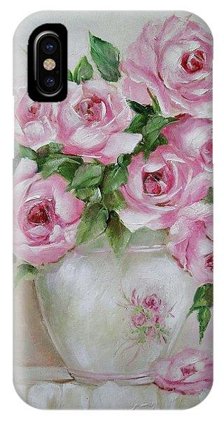Rose Vase IPhone Case