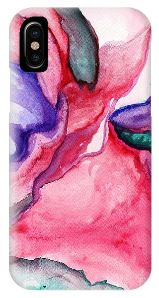 Rose Wave IPhone Case