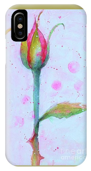 Rosebud IPhone Case