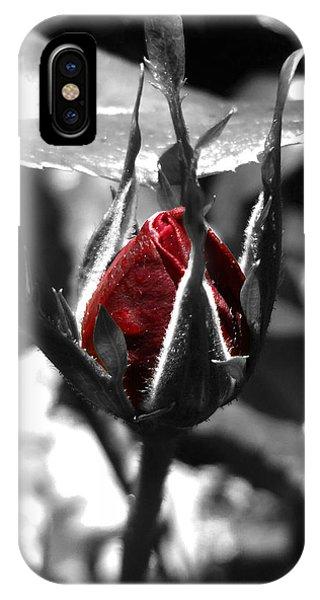 Rosebud Red IPhone Case