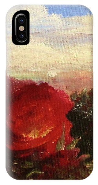 Rosebush IPhone Case