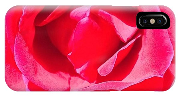 Detail iPhone Case - #roses Are #red ...#violets Are #blue by Shari Warren