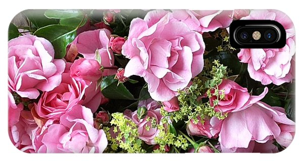 Roses From The Garden IPhone Case